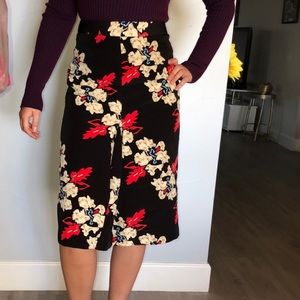 Topshop below the knee skirt